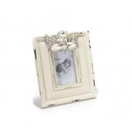 Cadre photo en bois avec petit Ange