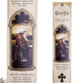 Pochette encens - Padre Pio  - 15 pces