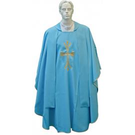 Chasuble pour prêtre avec étole brodée