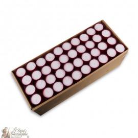 Bougies Veilleuses - rouges 120 pièces